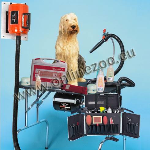 Hundefriseurbedarf und Hundesalonausstattung